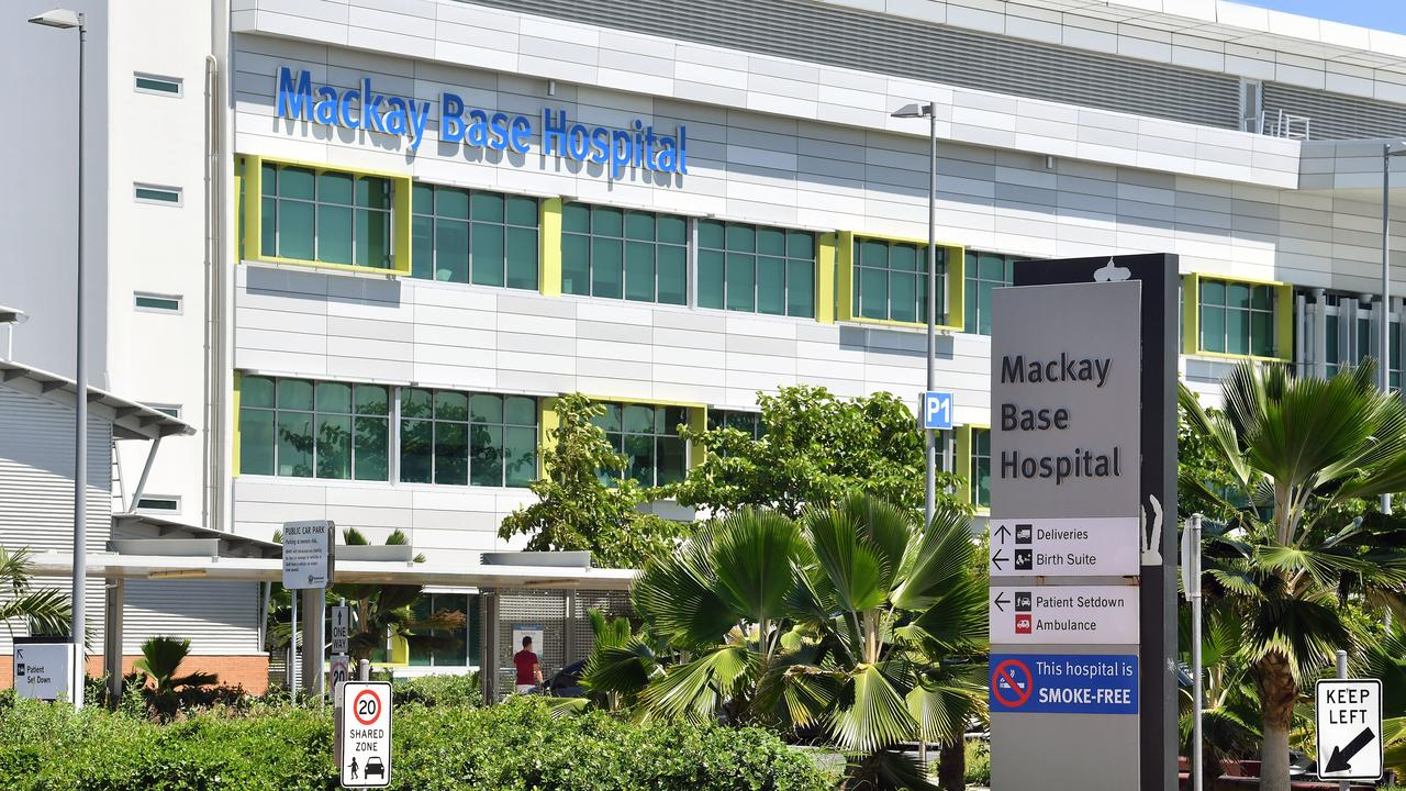 The Mackay Hospital and Health Service is treating 12 people for COVID-19. Picture: Tony Martin