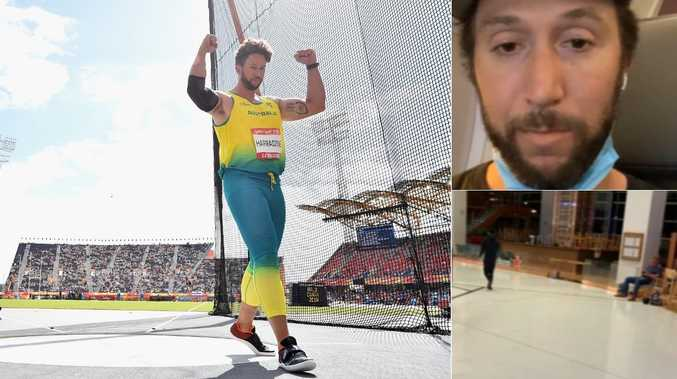 Athlete reveals haunting airport experience