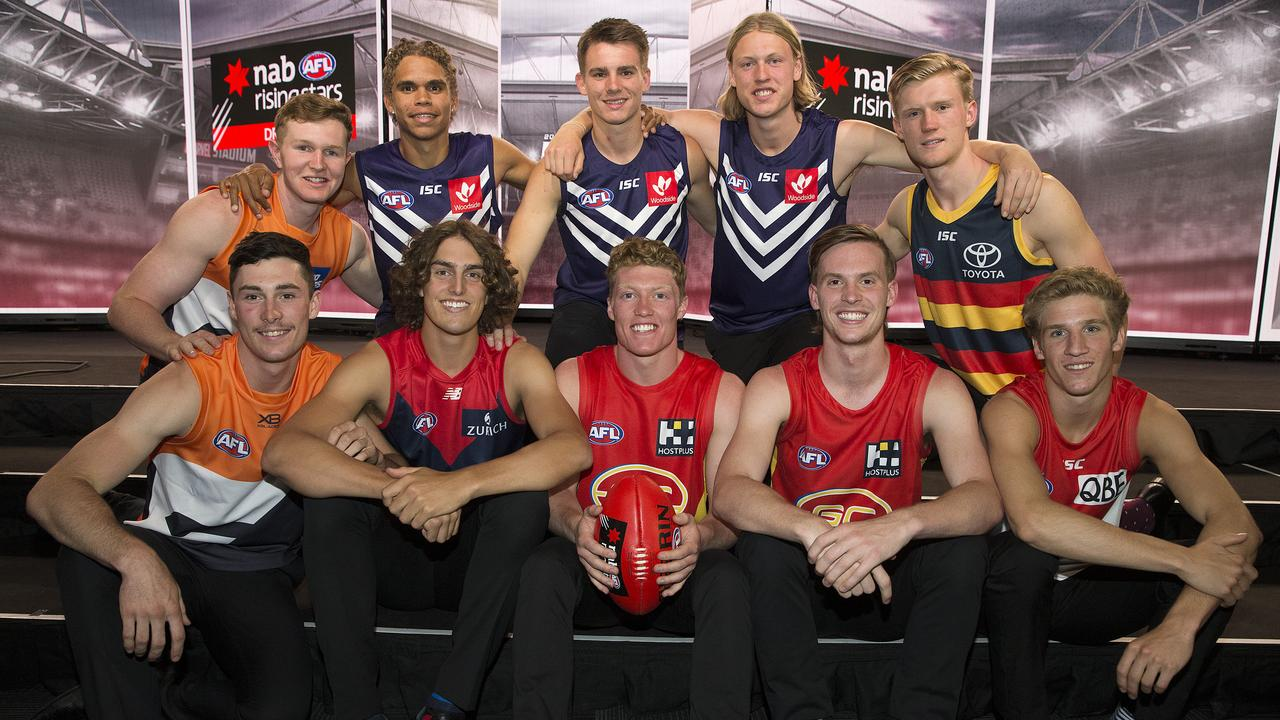 How the season looks for AFL draft hopefuls is still up in the air. Picture: Michael Klein