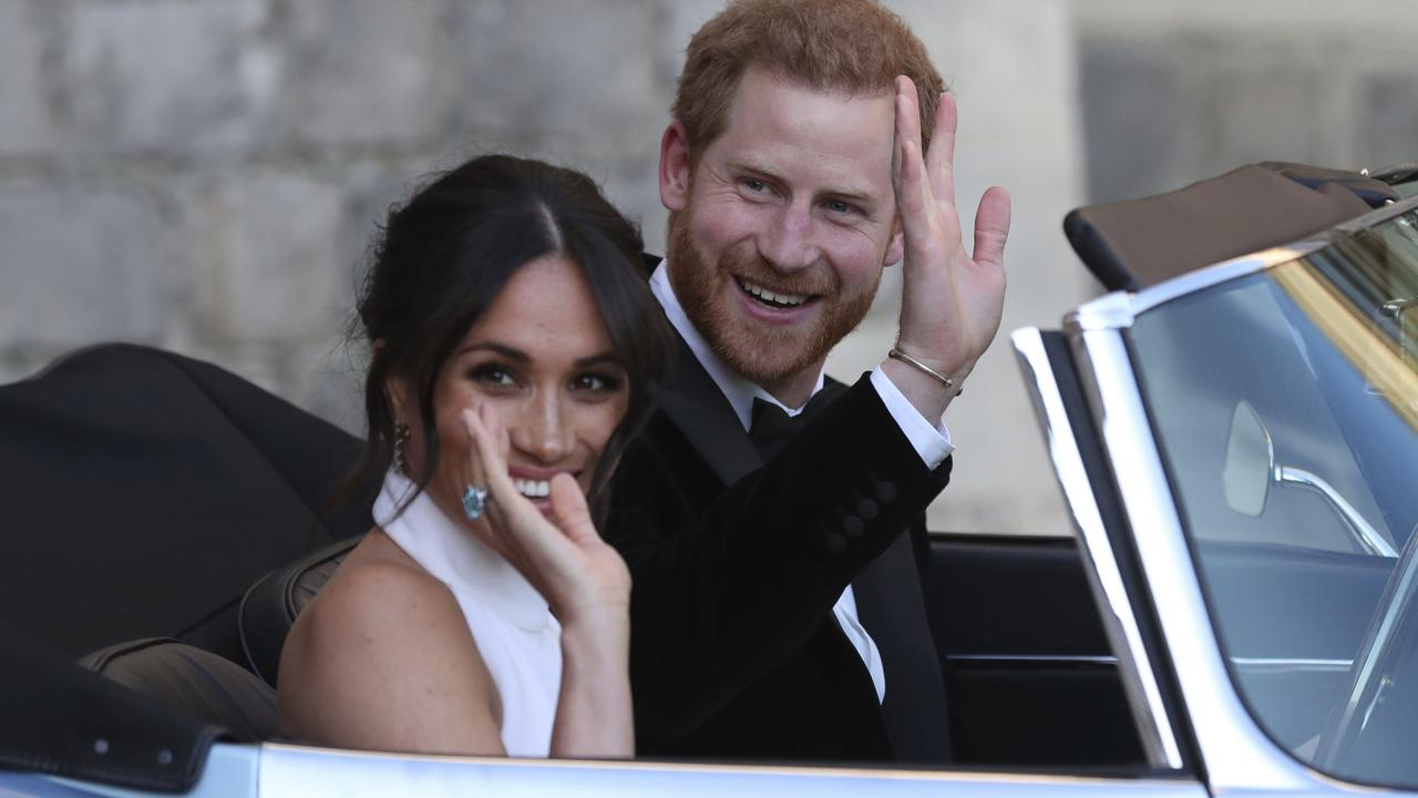 Meghan was Palace-ready within a year, but it wasn't to last. Picture: Steve Parsons/AP