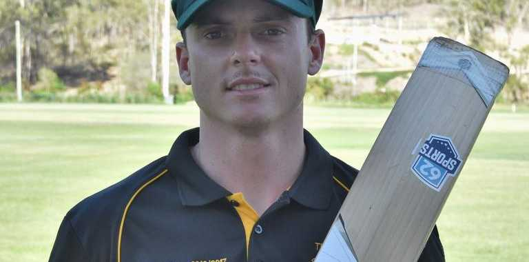 Sam Lowry also represented North Quuensland at the Australian Country Cricket Championships in Toowoomba.