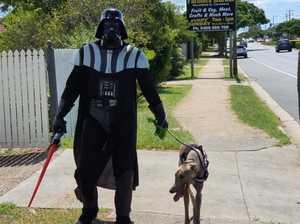 Local hero saves neighbourhood from isolation dark cloud