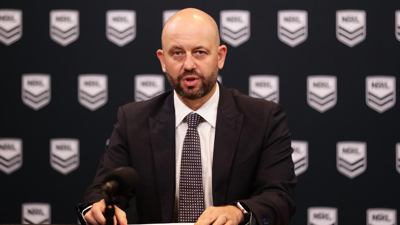 Todd Greenberg has copped it over rugby league's financial state -— but the clubs aren't blameless. Picture: Matt King/Getty Images