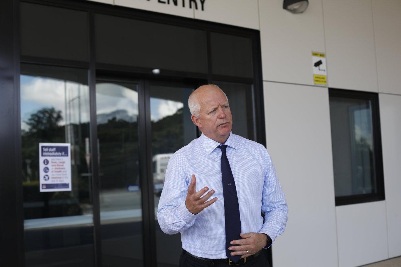 Northern NSW Local Health District chief executive, Wayne Jones.