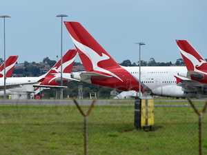 Four Qantas mercy flight crew test positive for coronavirus
