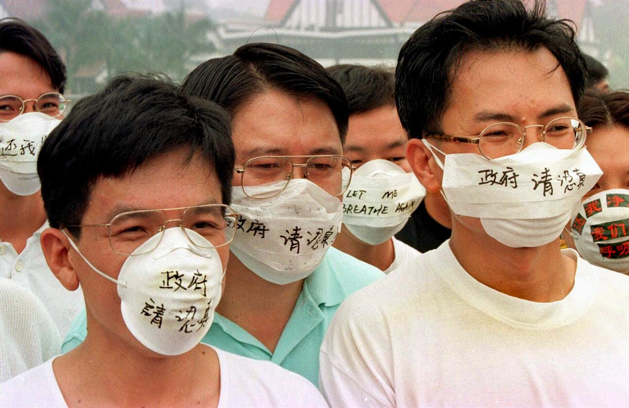The company's employees were told to obtain masks so they could be sent back to China