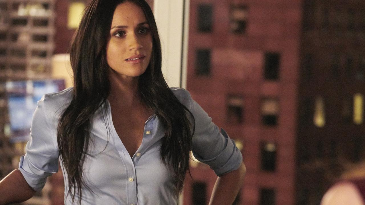 Interestingly, Meghan's character in Suits was also named Rachel. Picture: Ian Watson/USA Network