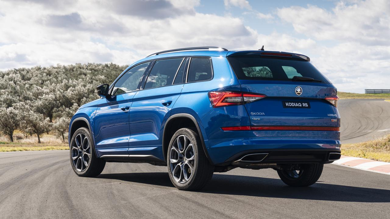 Skoda's Kodiaq RS is a family SUV with a wild side.