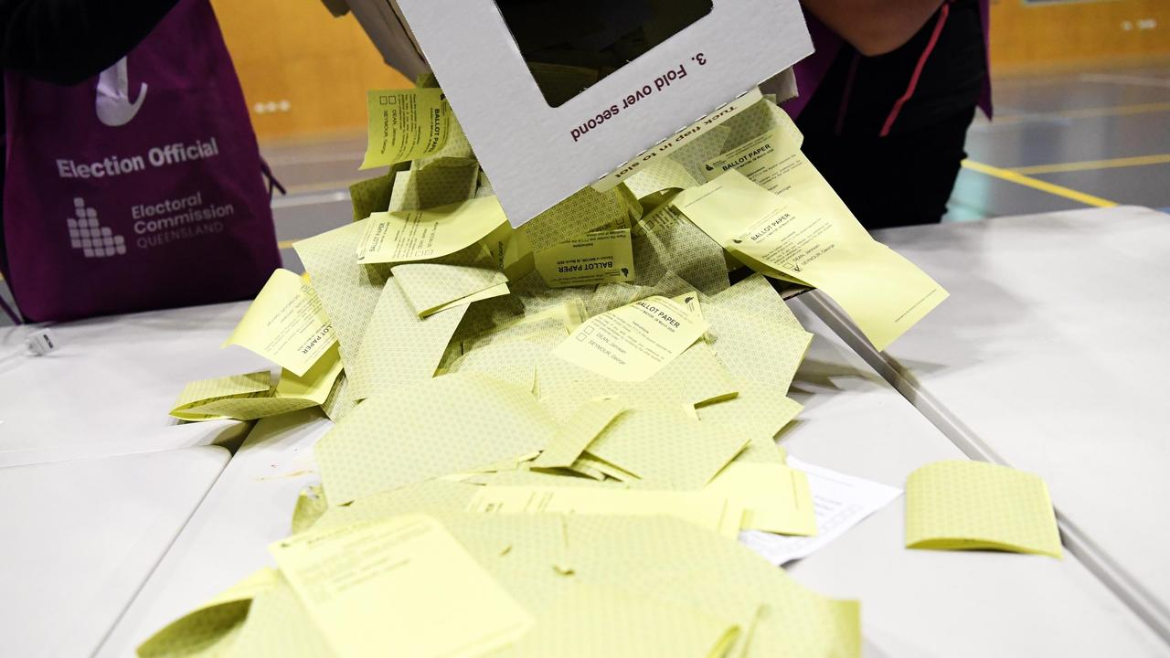POSTAL VOTES PENDING: The final votes are being counted.