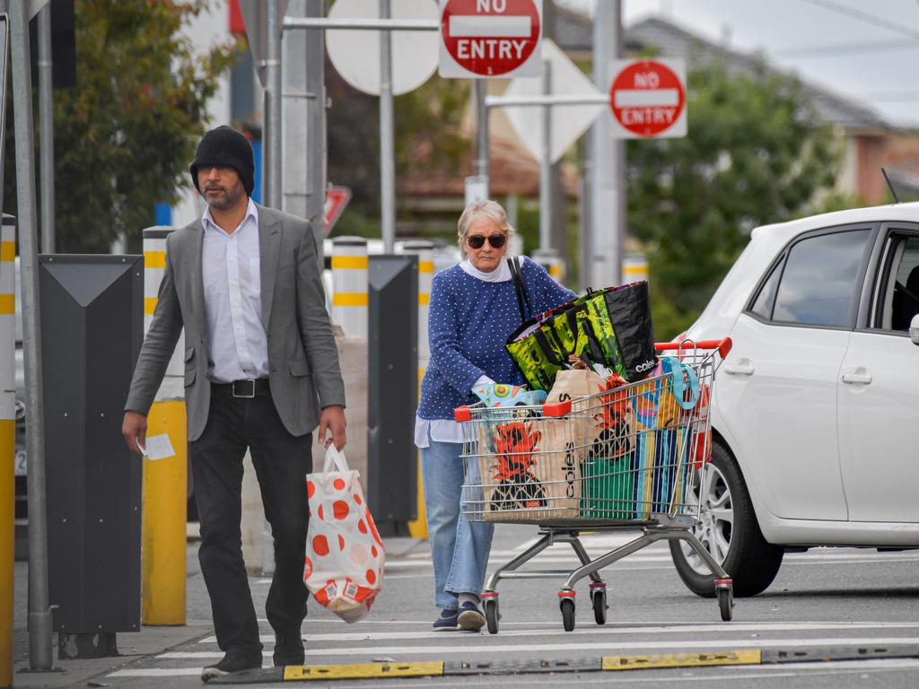 Shopping for groceries is a major source of stress for many. Picture: Jason Edwards