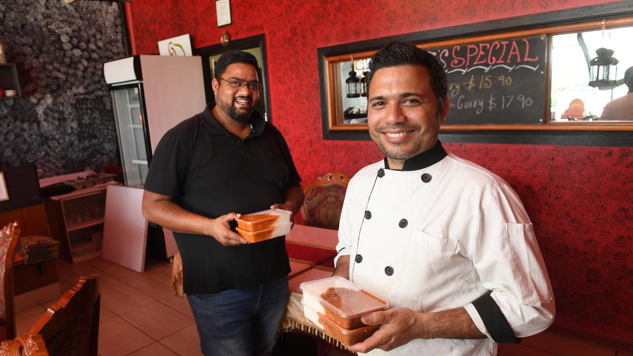 Indian Tadka owners Sid Tripathi and Chandan Singh are donating meals to assist front line workers at Ipswich Hospital.