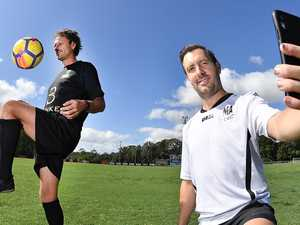 Wanderers team up to keep game alive in Coast backyards