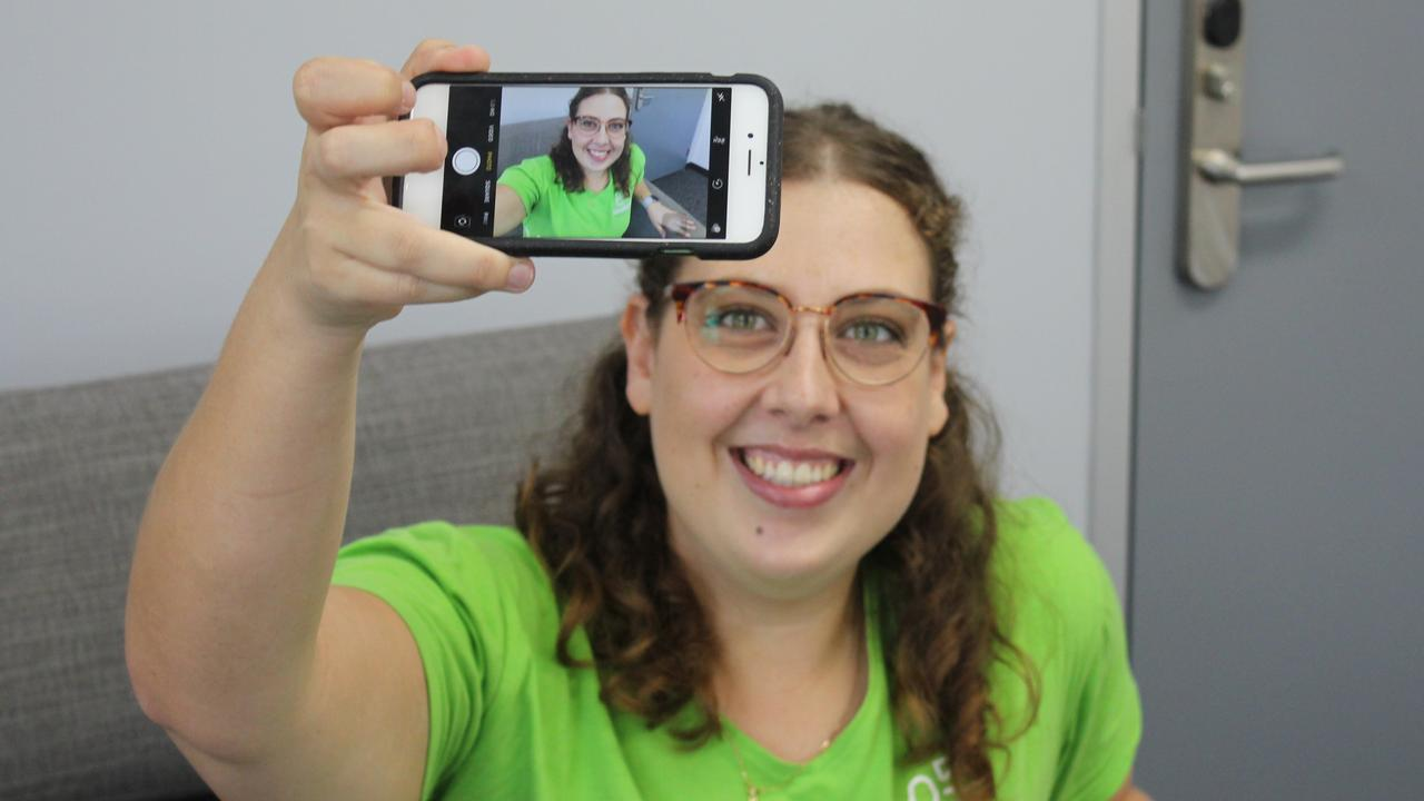 Roseberry Qld's Headspace program engagement officer Jayde Macdonald is excited for the programs new digital social hangout for youth aged 12-17