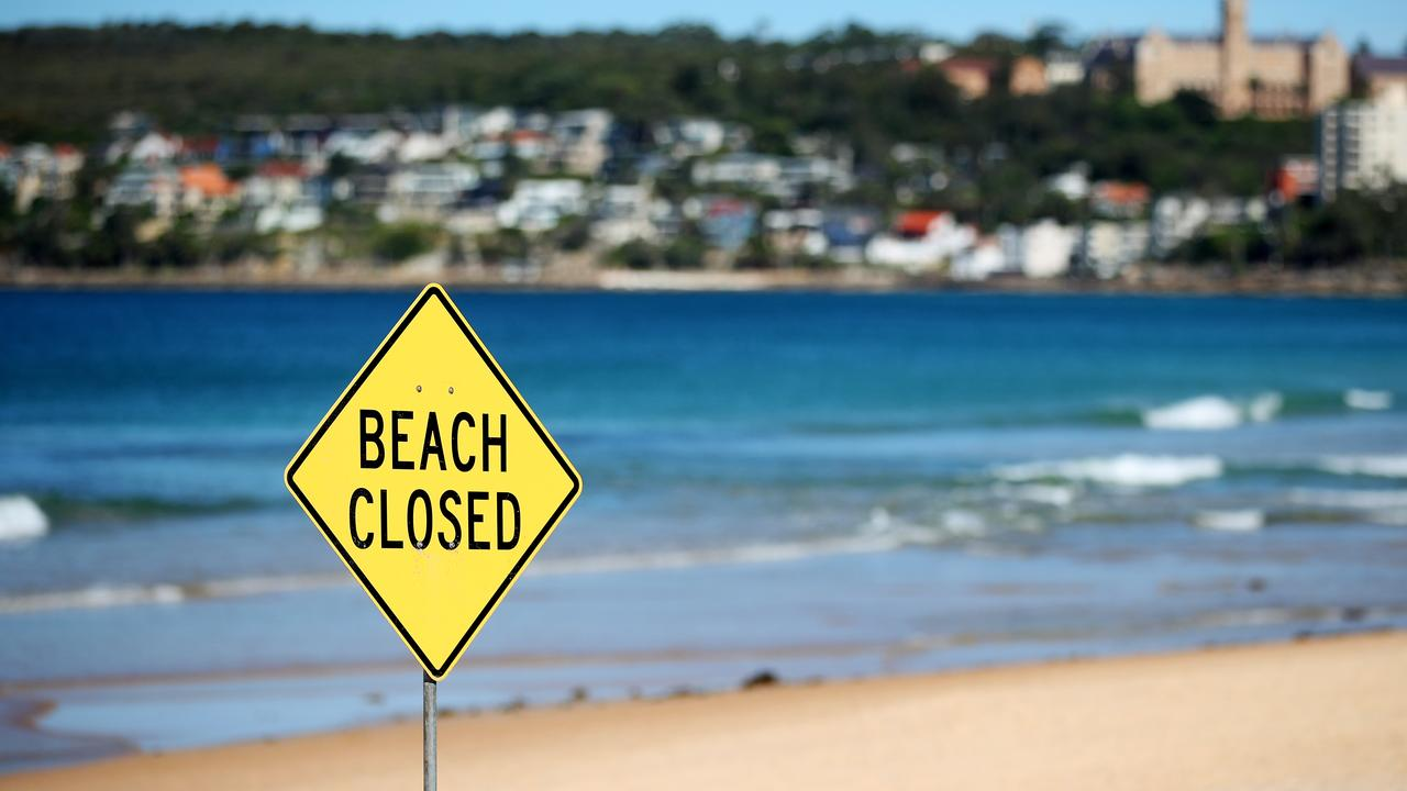 First it was beaches in the east, on Sunday it was the north. Picture: Cameron Spencer/Getty Images