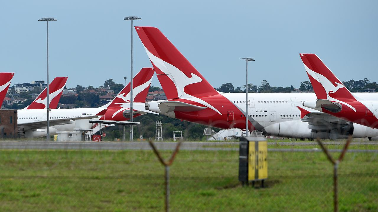 The Federal Department of Health exempted flight crew from the 14-day isolation rule upon returning from overseas. Picture: AAP