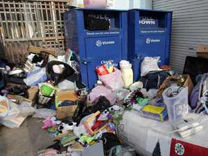 Vinnies stores close, plead for dumping to stop