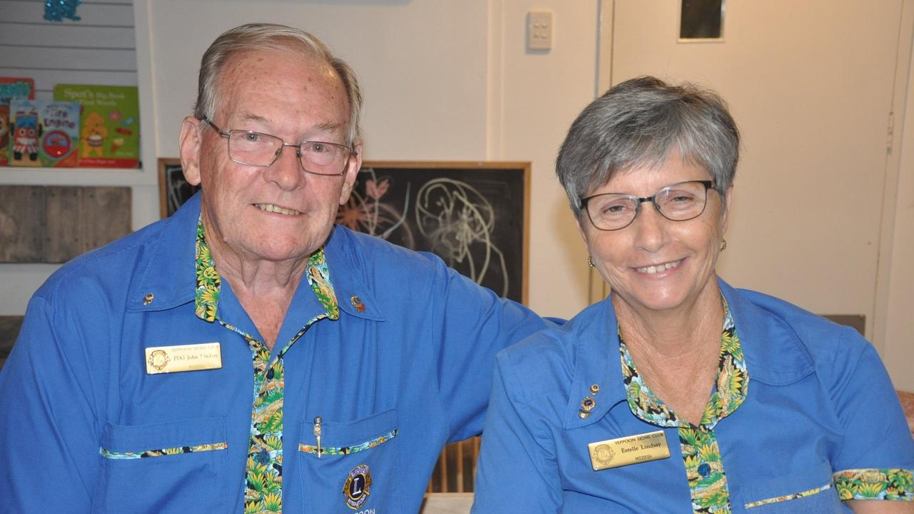 ONLINE TRANSITION: Yeppoon Lions John and Estelle Lindsay are still working on project to help people affected by bushfires late last year.