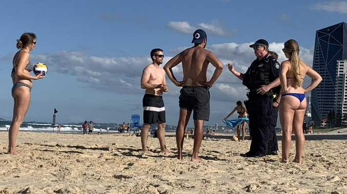 Police step up coronavirus patrols on Coast beaches