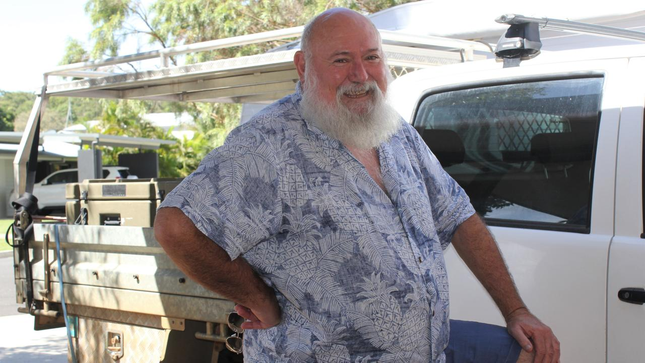 Vietnam vet Ted Robinson is behind the creation of Alaric Outback Retreat.