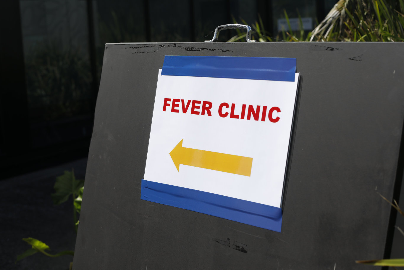 A COVID-19 clinic has been set up at Byron Central Hospital.