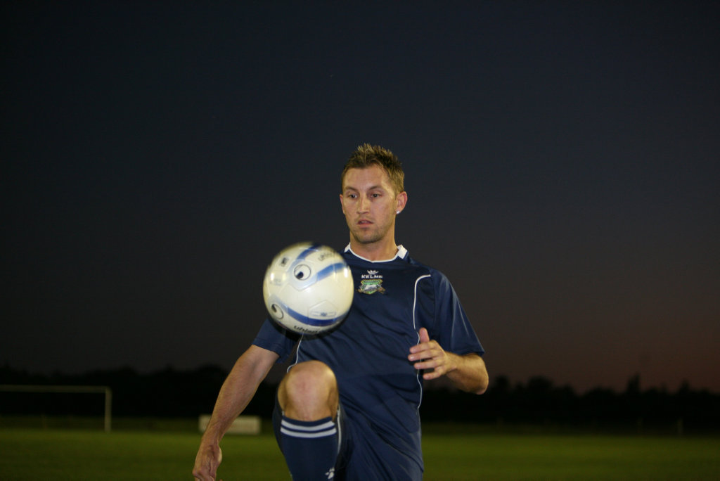 Image for sale: Daily Mercury Miners Player Aaron Craig during training.Photo Lee Constable / Daily Mercury