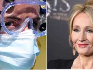 JK Rowling recovers after 'virus symptoms'