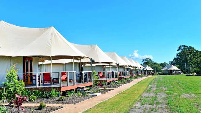 Glamping, camping resort's plan for huge expansion