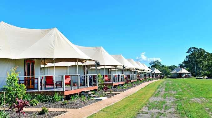 Glamping, camping resort's plan for huge expansion