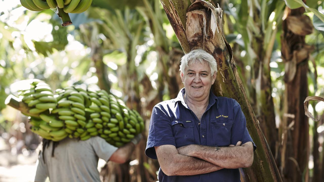 Howe Farming managing director Dennis Howe.