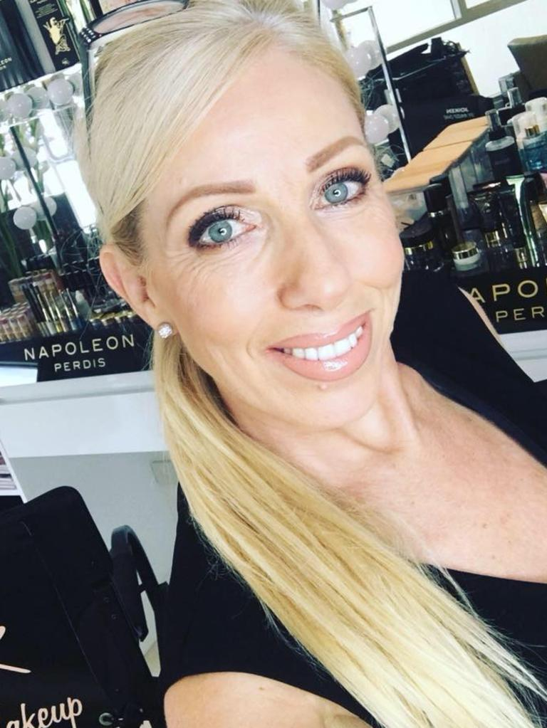Hairdresser and makeup artist Vicki Nelis runs Silk Hair and Makeup in Noosaville.