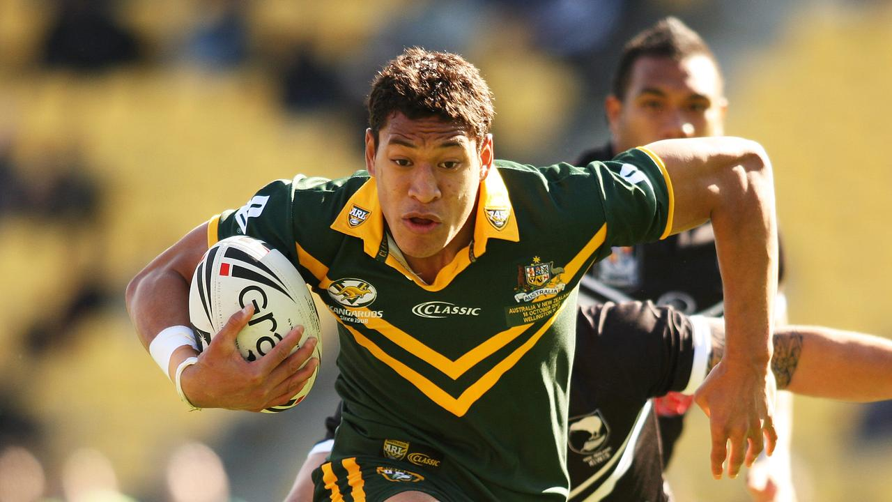 Folau played for Australia between 2007 and 2009.