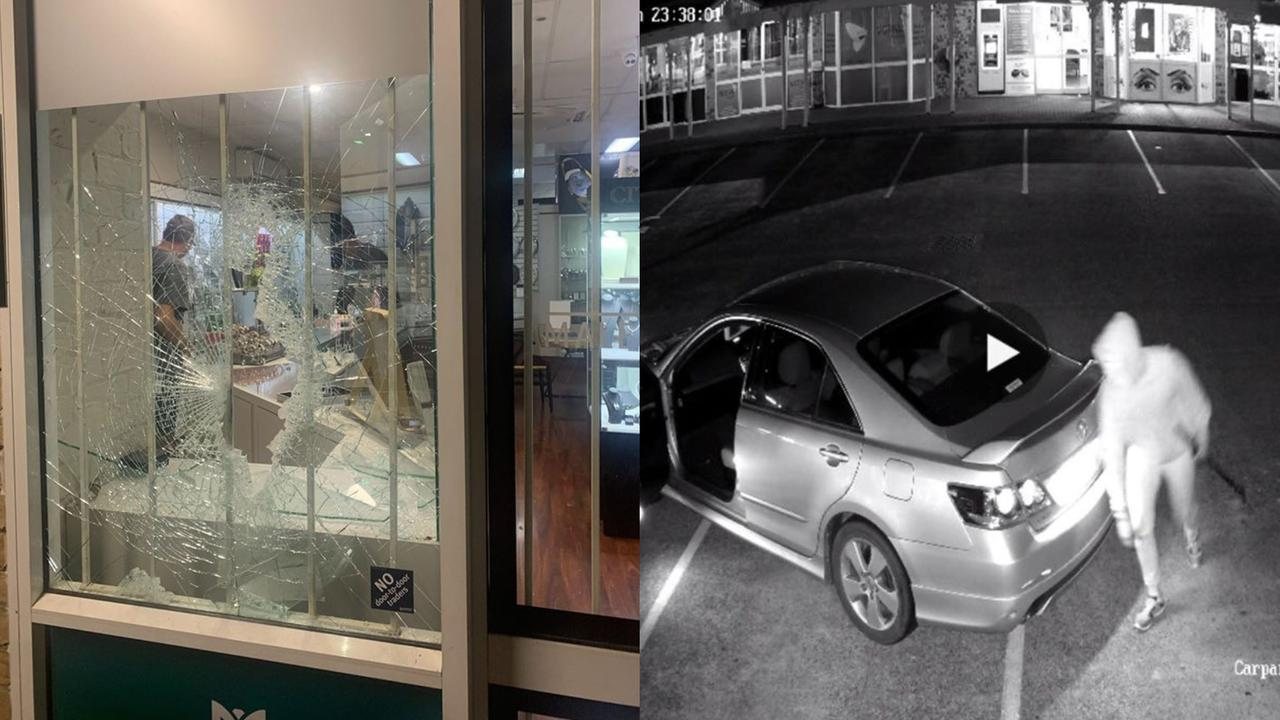 JEWELLERY STORE BLOW: Maleny Jewellers was targeted in a brazen robbery early Monday morning.