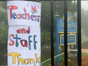 Positivity shines with signs at Eungella State School