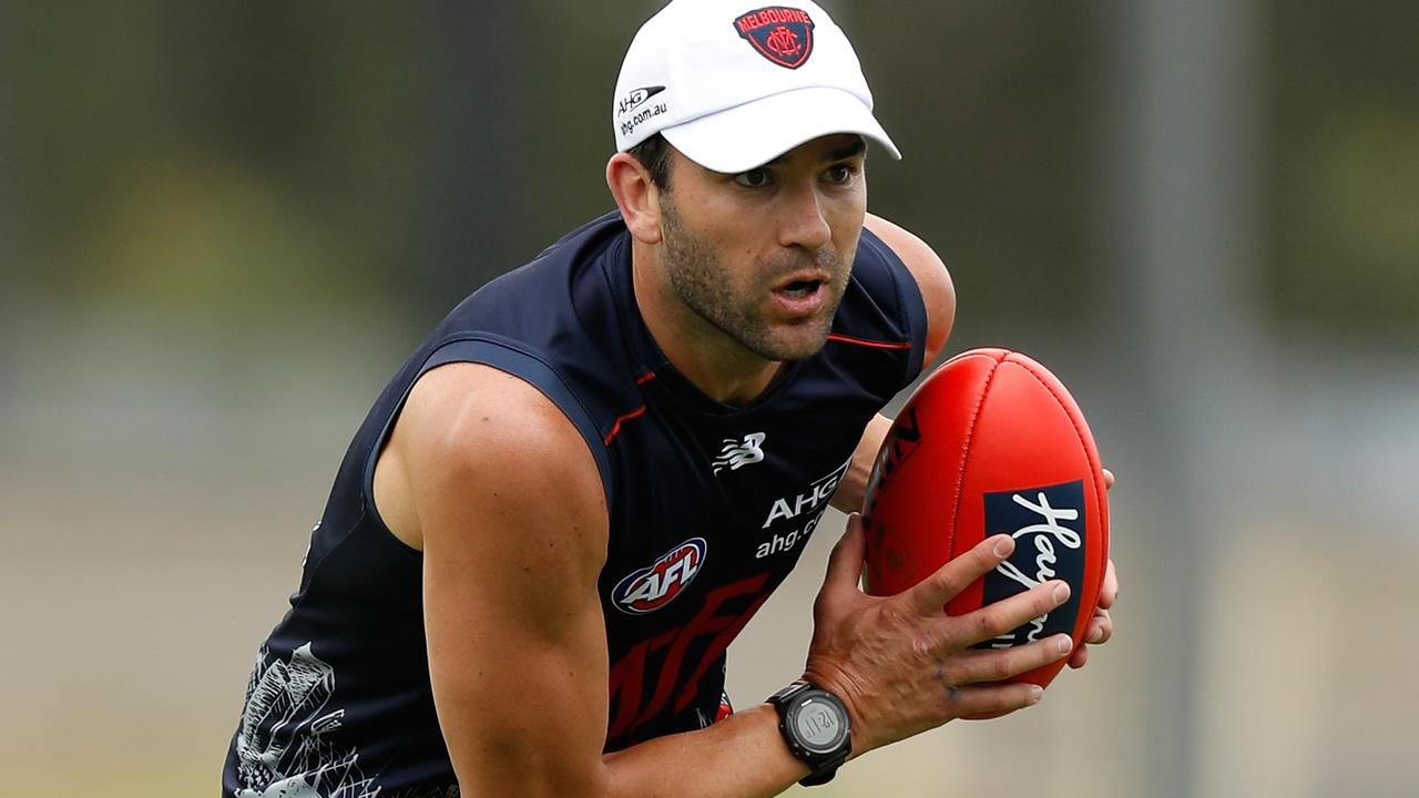 Former Dee Jordan Lewis says the pre-season camp was one of the toughest things he's ever endured. Picture: AFL Media/Getty Images