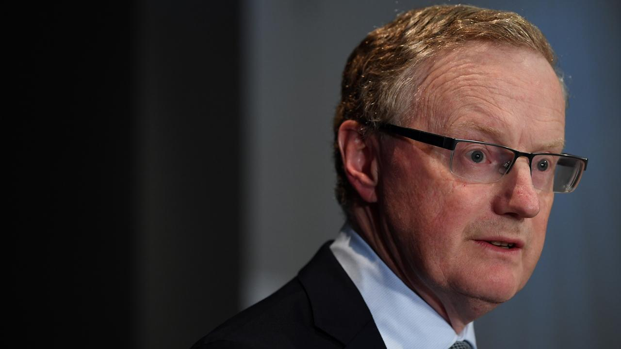 Reserve Bank of Australia Governor Philip Lowe announced the decision this afternoon. Picture: Joel Carrett/AAP