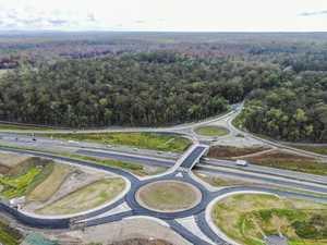Iluka Interchange aerial footage