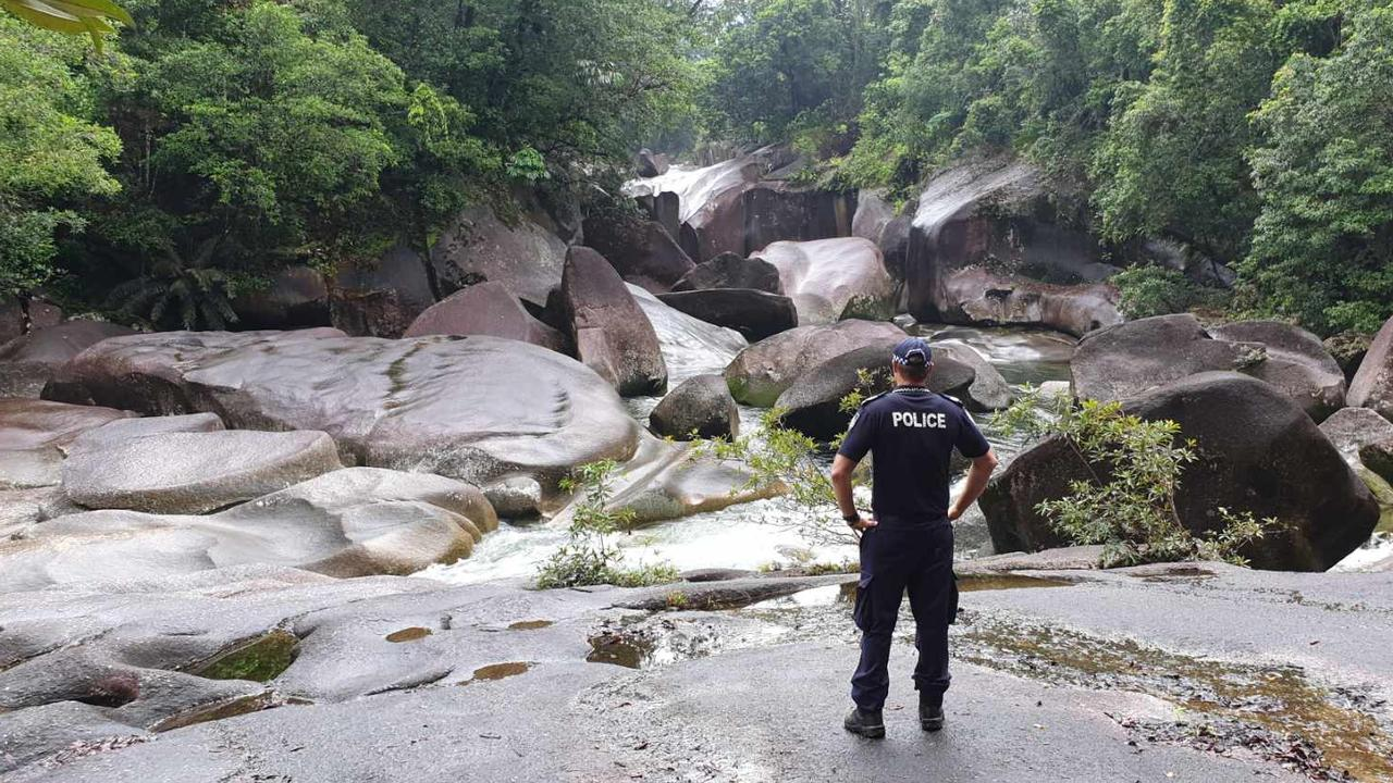 Search continues for a woman missing at the Babinda Boulders. Picture: Supplied