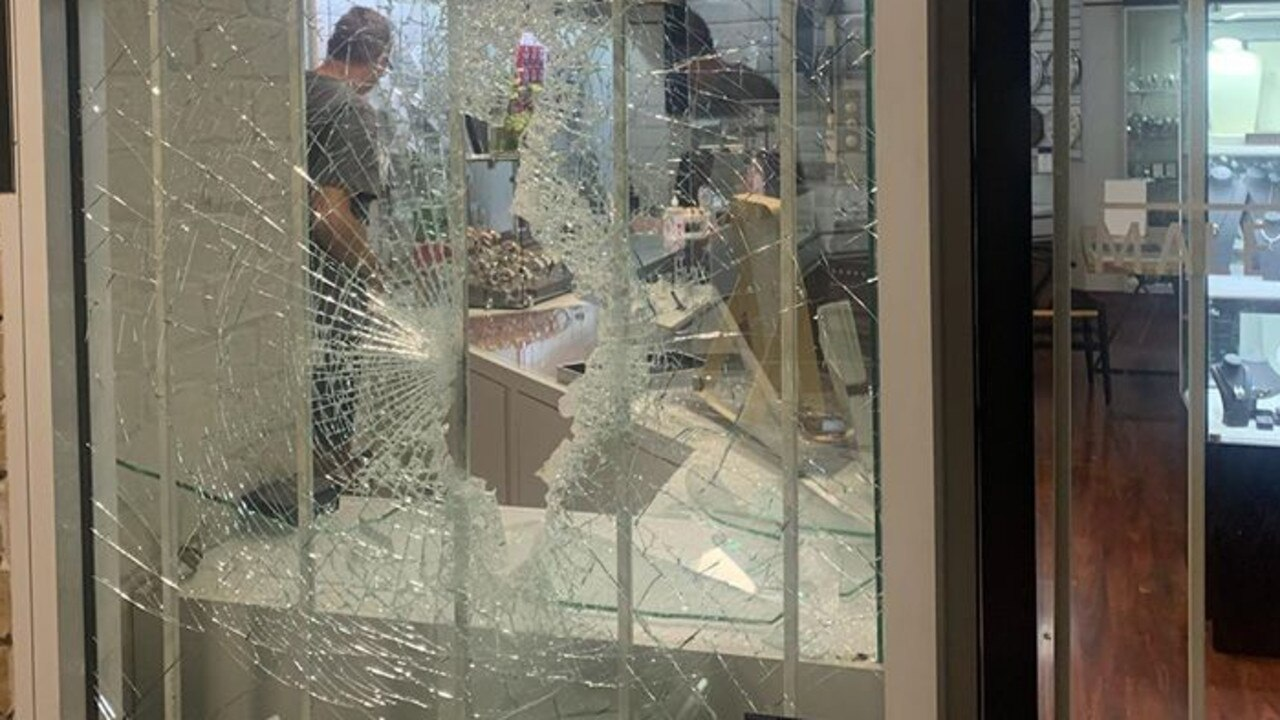 Police are investigating after Maleny Jewellers was broken into on Sunday night, with thieves taking off with multiple items. Photo: Maleny Jewellers