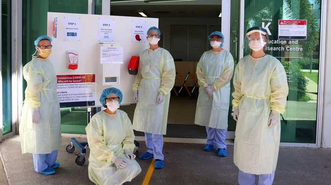 Mackay Hospital ramps up services to cope with COVID-19