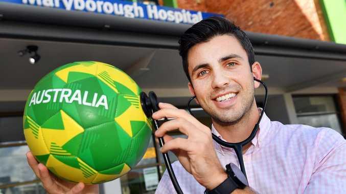 Frontline Footballer: UK Doctor kicking goals in Wide Bay
