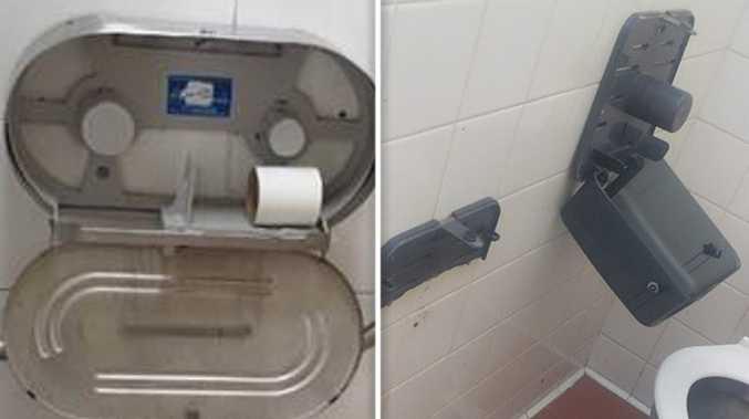 Toilet paper scavengers raiding NSW highway stops