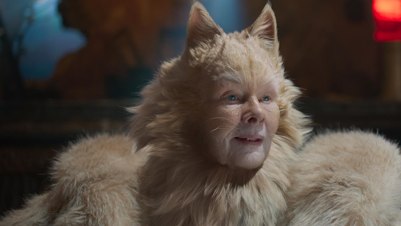 Judi Dench in Cats. Picture: Universal Pictures.