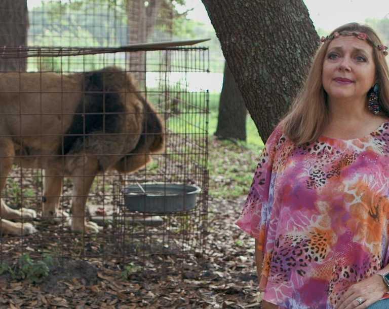Tiger King's Carole Baskin. Picture: Netflix
