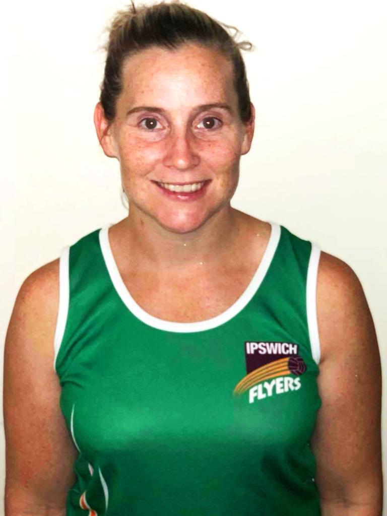 Ipswich Flyers netballer Erin Ellis.