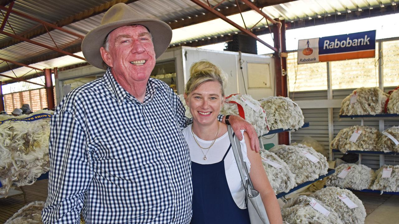 Stephen and Peta Tancred.