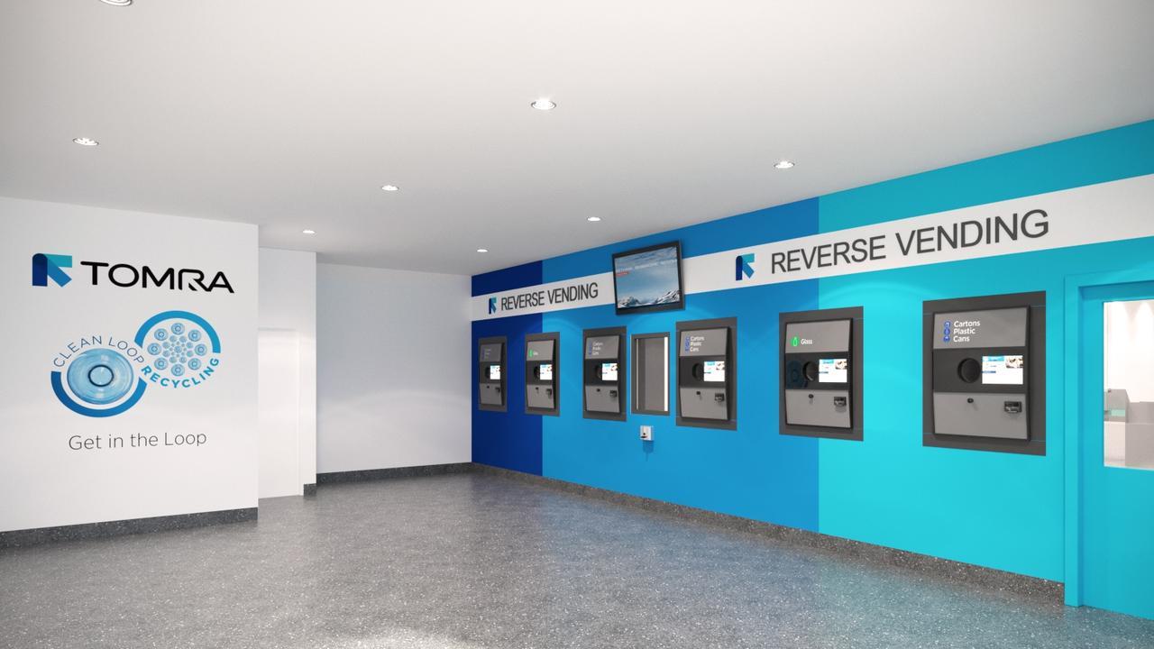 OPEN: The Tomra Reverse Vending Centre in Ballina.