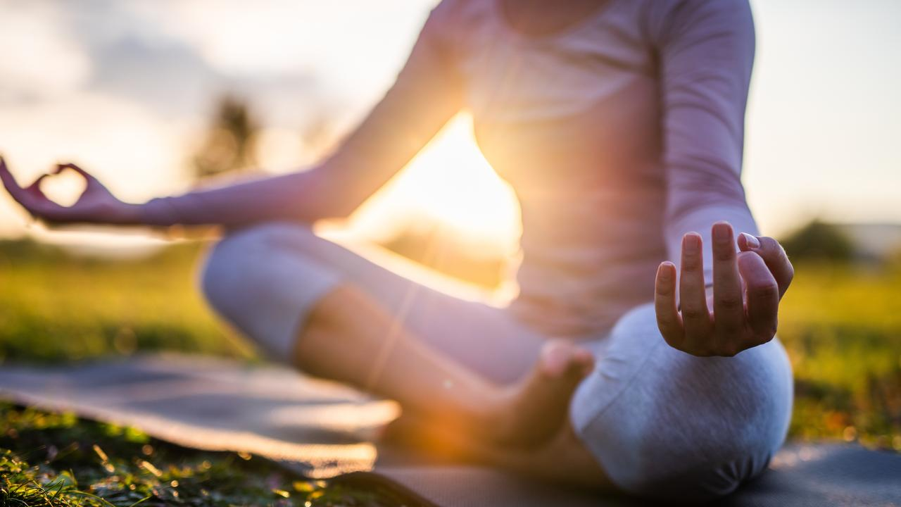CALM: Experts are reminding us to take control of our inner balance during self isolation.