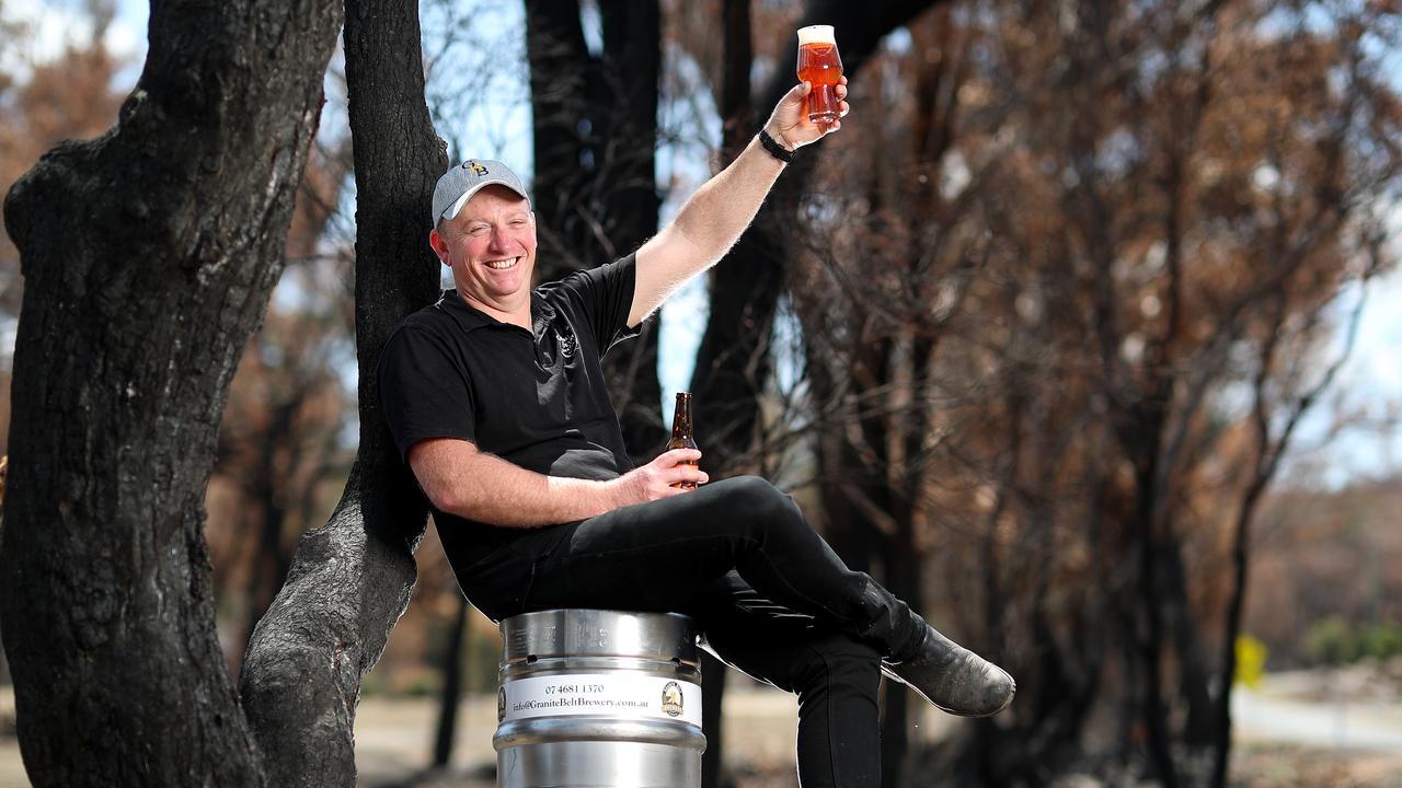 Granite Belt Brewery owner Geoff Davenport.