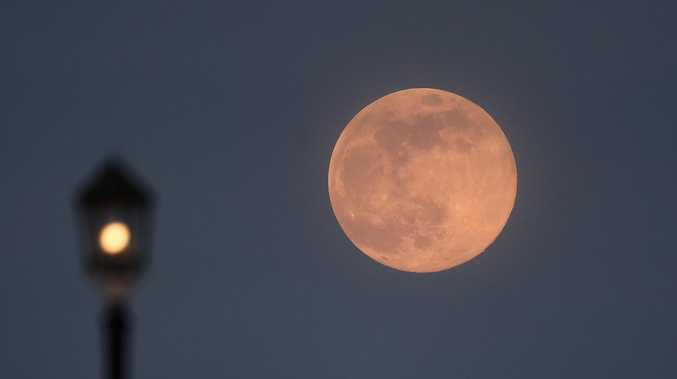 Best time to see tonight's supermoon in Toowoomba
