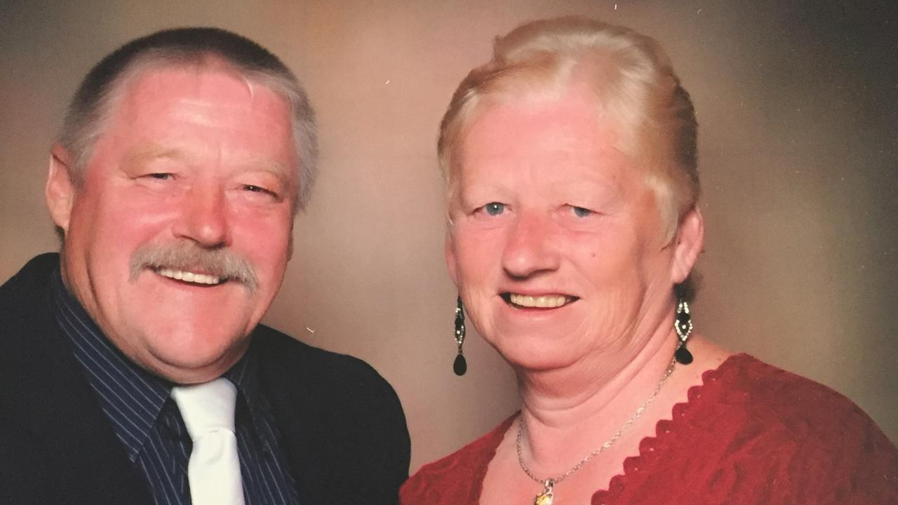 Highton couple David and Estelle Cameron have made it safely home.